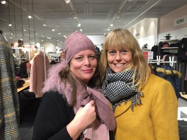 Eva Marie Svensson och Ann-Sofie Sköld Åberg