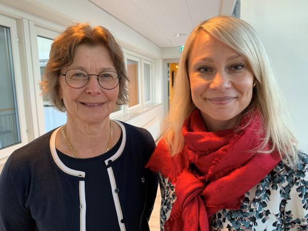 Eva Rönmark och Helena Backman