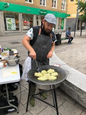 Pelle Johansson, matkonsulent vid Hushållningssällskapet