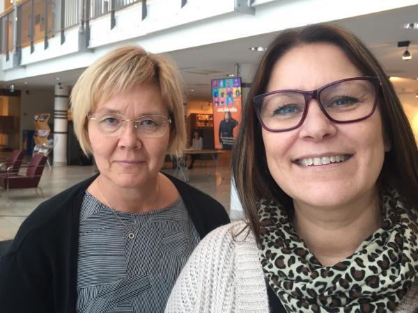 Åsa Holmberg och Pia Johansson
